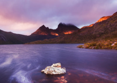 59 TABLES HIGH RES Cradle Mountain sunrise_Nick Fitzhardinge_cropped